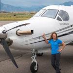 Женщина в мужском мире авиации